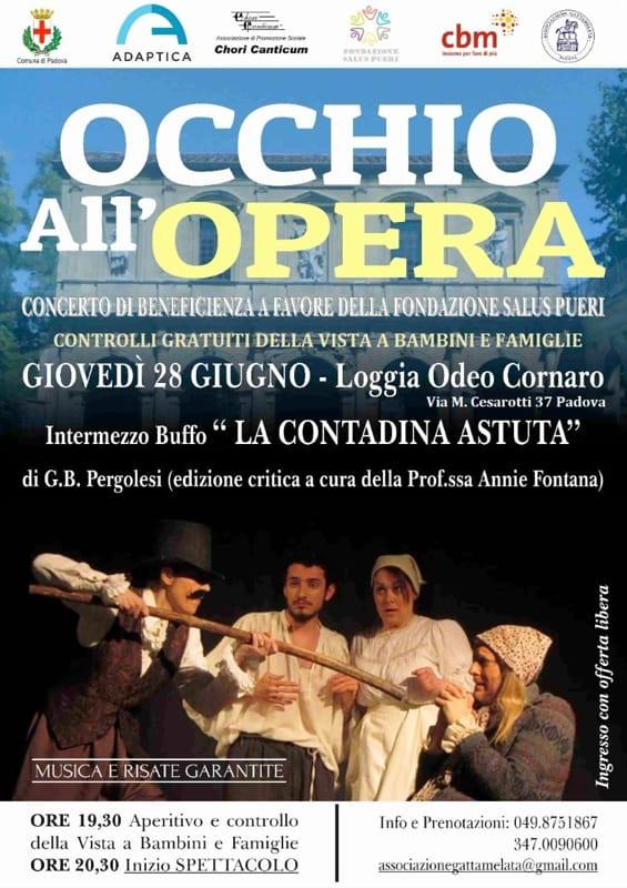 """""""Occhio all'Opera"""", screening visivi pediatrici gratuiti"""